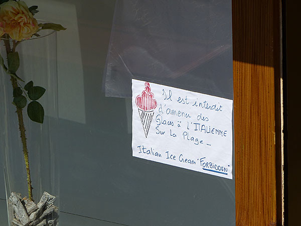 glaces italienens interdites