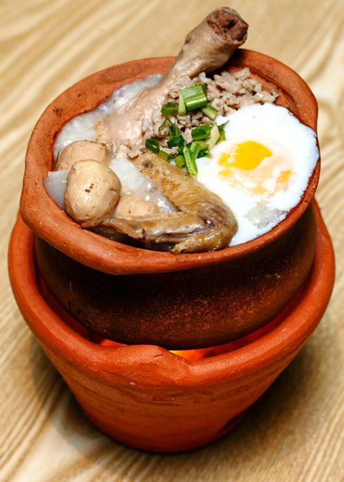 Creamy Chicken Tom Yam Porridge