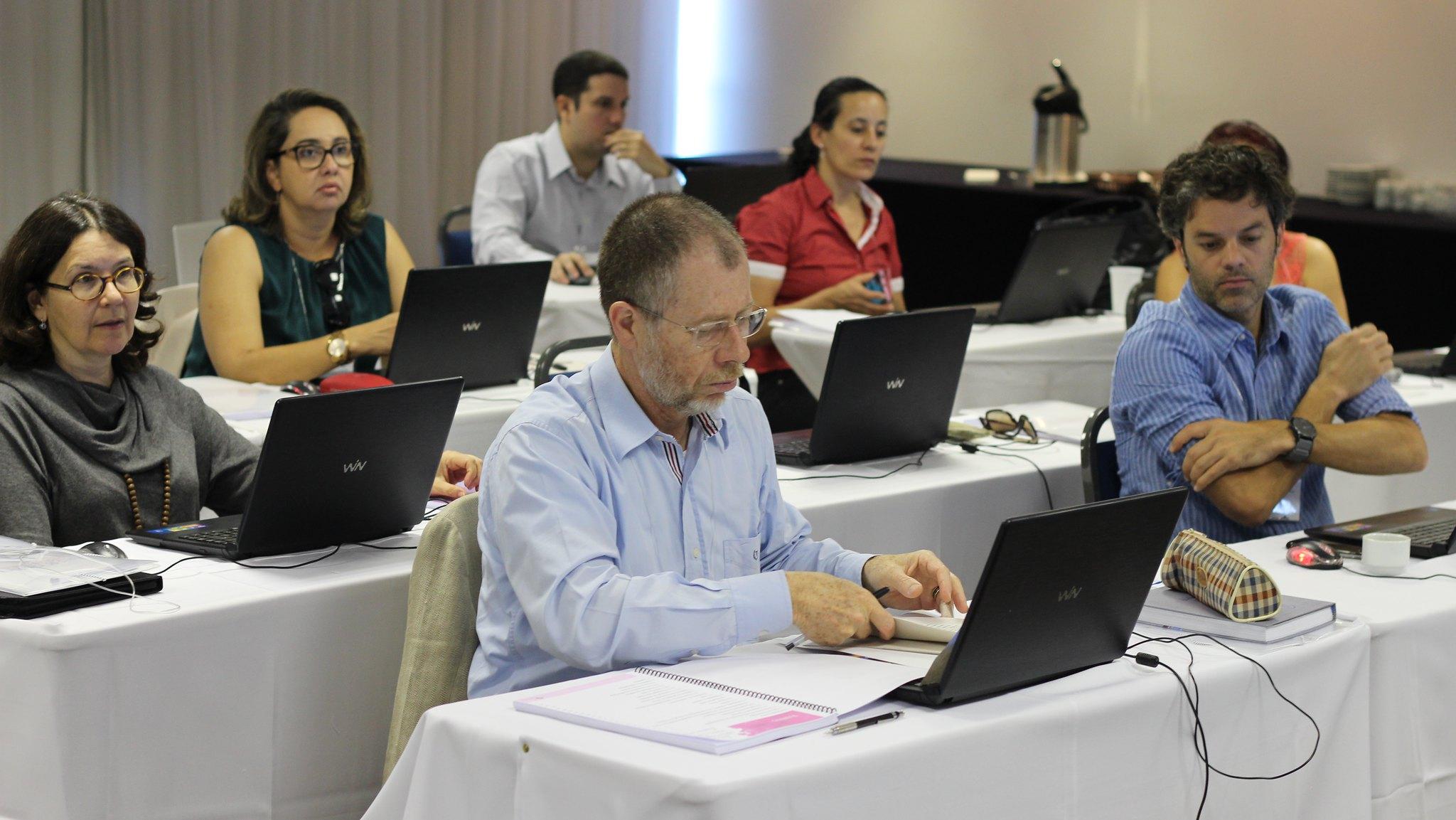 Técnicos e gestores participam de treinamento sobre software em Brasília