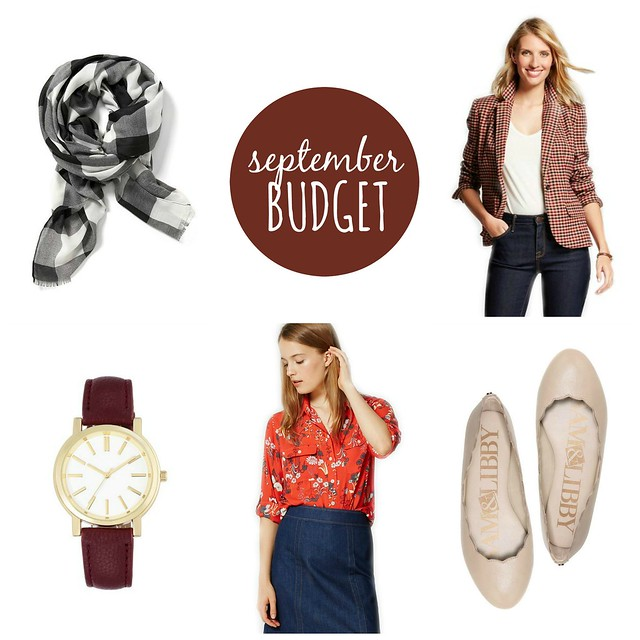 september 2016 budget | Style On Target