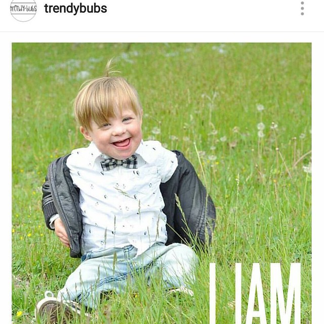 This week was full of good news! While I can't share all of the news just yet, I am excited to share that Liam was chosen to be a @trendybubs brand rep! (Go check out the adorable team!) Thank you so much for including a little guy who is rocking an extra
