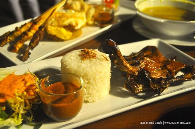 Local Dish - Our Dinner at Kayangan Restaurant Holiday Resort Lombok