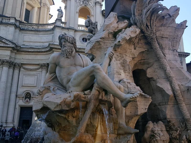 Rome fountains