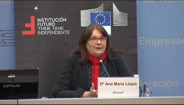 Conferencia de Ana María Llopis