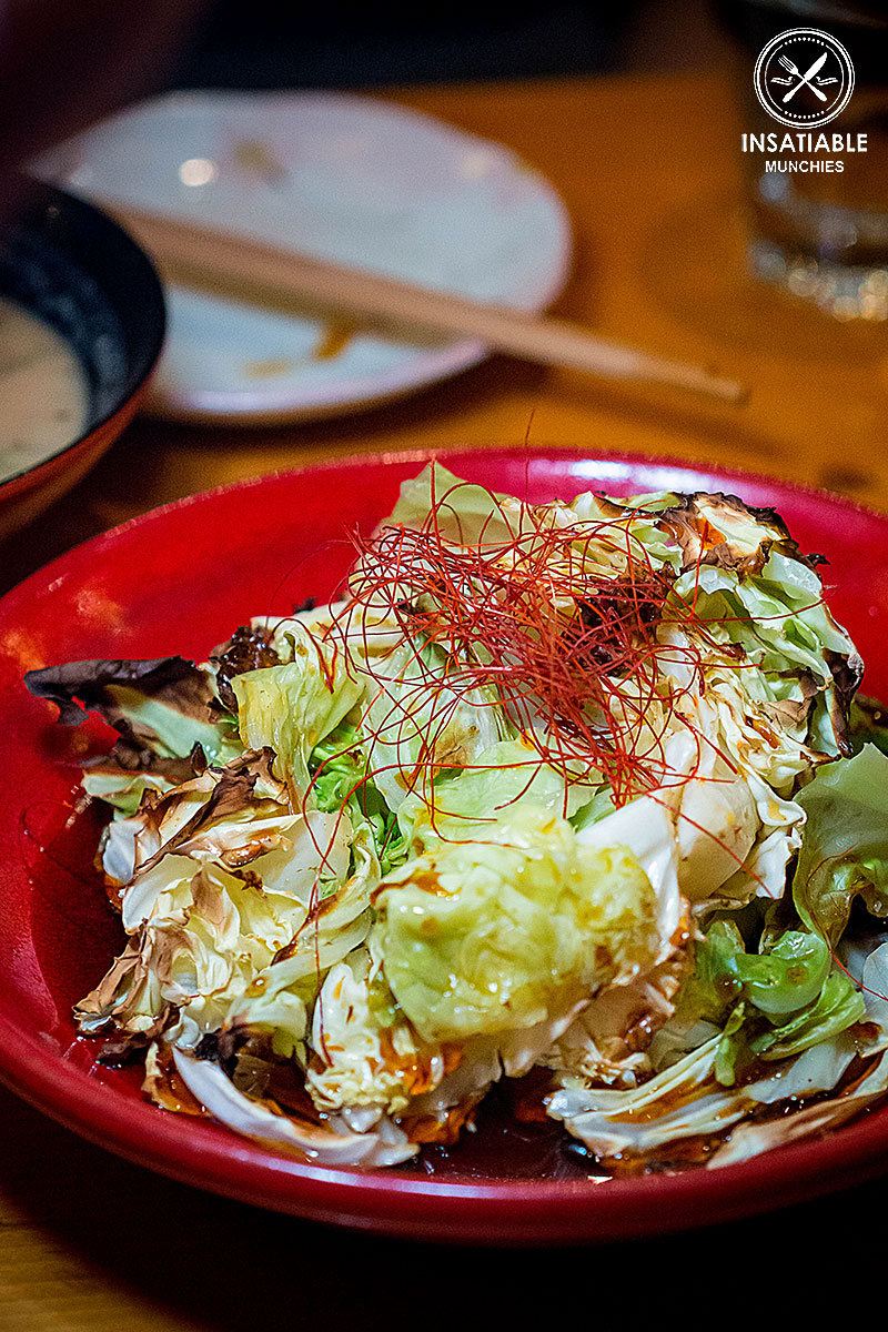 Oven Baked Truffle Cabbage: En Toriciya, Crows Nest. Sydney Food Blog Review