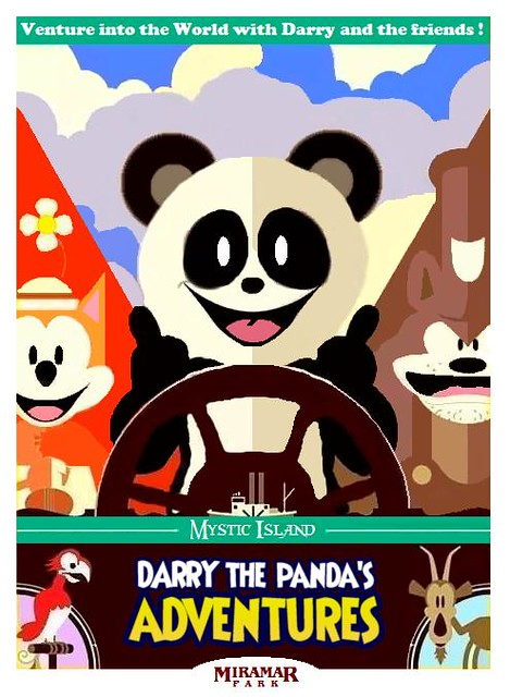 Darry the Panda's Adventures