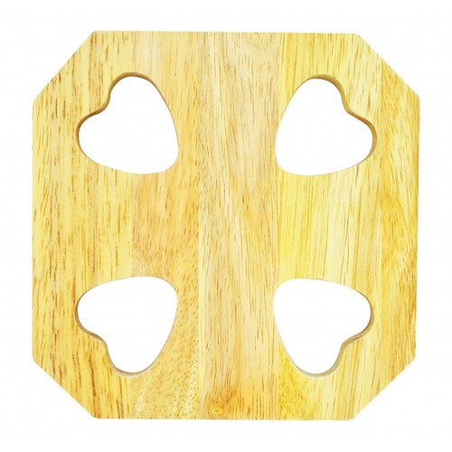 Đồ lót nồi bằng gỗ mẫu số 4