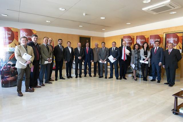 02-150219 Reunión Representantes Asociaciones empresariales Sector Turístico
