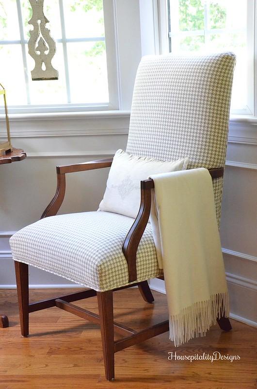 Ethan Allen Martha Washington Chair - Housepitality Designs