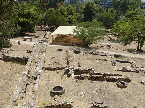 fouilles olympieion