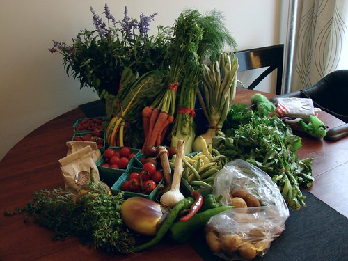 Market Haul, July 21, 2012 | by Jenblossom