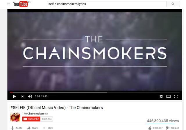 Chainsmokers - Fact # 2