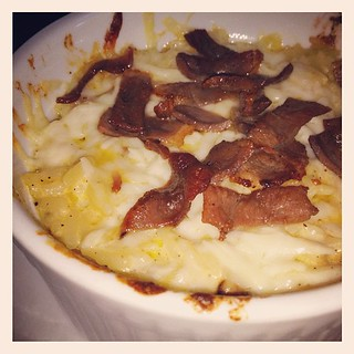 Orzo Macaroni & Foie Beer Cheese, House Made Duck Bacon | by Caroline on Crack