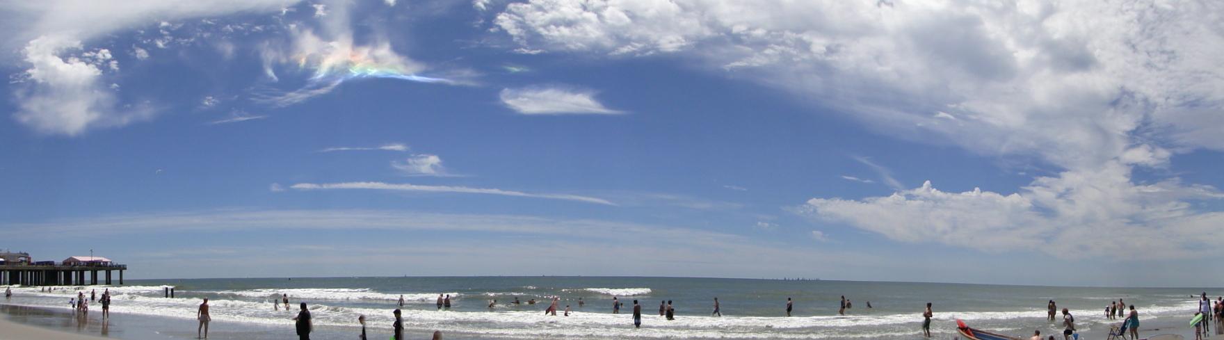Iridescent Cloud, Atlantic City