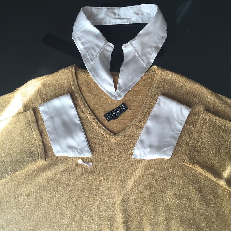 Gold Sweater - In Progress