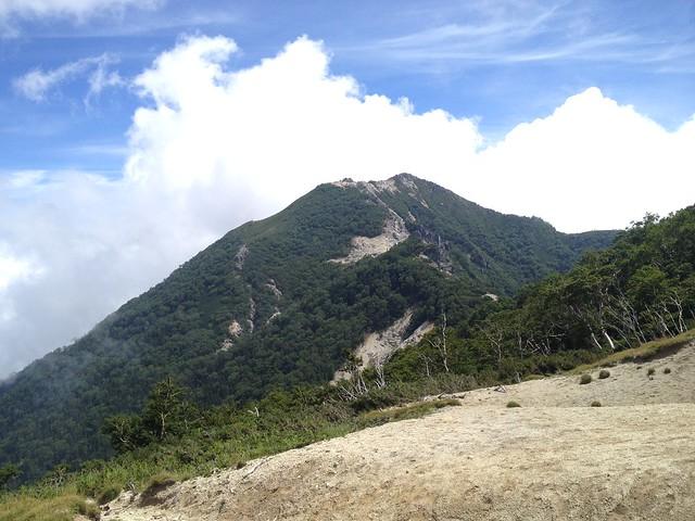 鳳凰山 地蔵岳 賽の河原より観音岳
