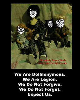 We are Dollnonymous | by kimsworldofart
