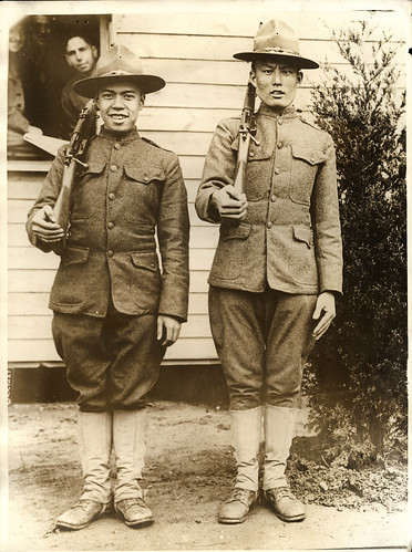 1917 Anon for Vereenigd Persbureau - Mexican-American WWI recruits - 8976 | by blacque_jacques