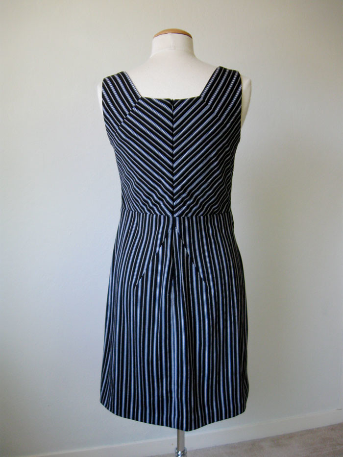 diagonal stripe back on form