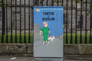 Dublin Street Art - TinTin In Dublin | by infomatique