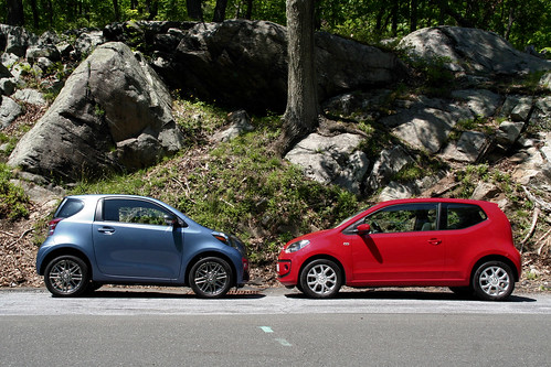 Scion iQ meets Volkswagen up! | by ConsumerSearch.com