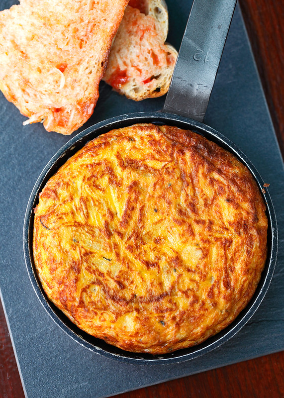 Spanish Omelette with Potato and Onion