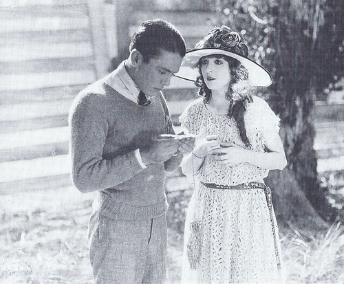 Madge Bellamy with Jack Pickford in Garrison's Finish | by The Loudest Voice