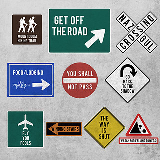 LOTR road signs | by jerbing33