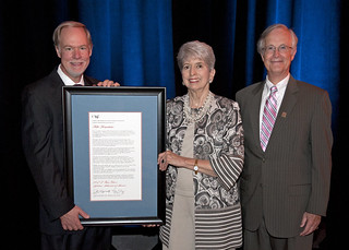 Rita Bornstein Receives the 2012 E. Burr Gibson Lifetime Achievement Award | by Rollins College