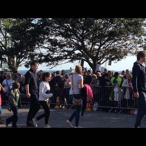 Loads of people for Pompey #torchrelay | by MagellanPR