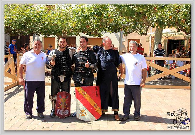 Poza de la Sal, Feria de Artesanía y Alimentación y Combates medievales (17)