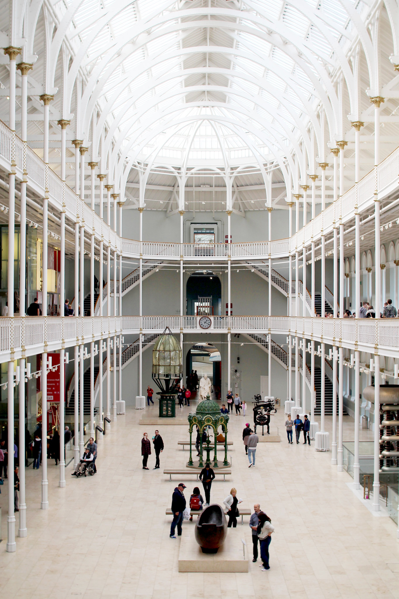 The National Museum of Scotland, Edinburgh UK