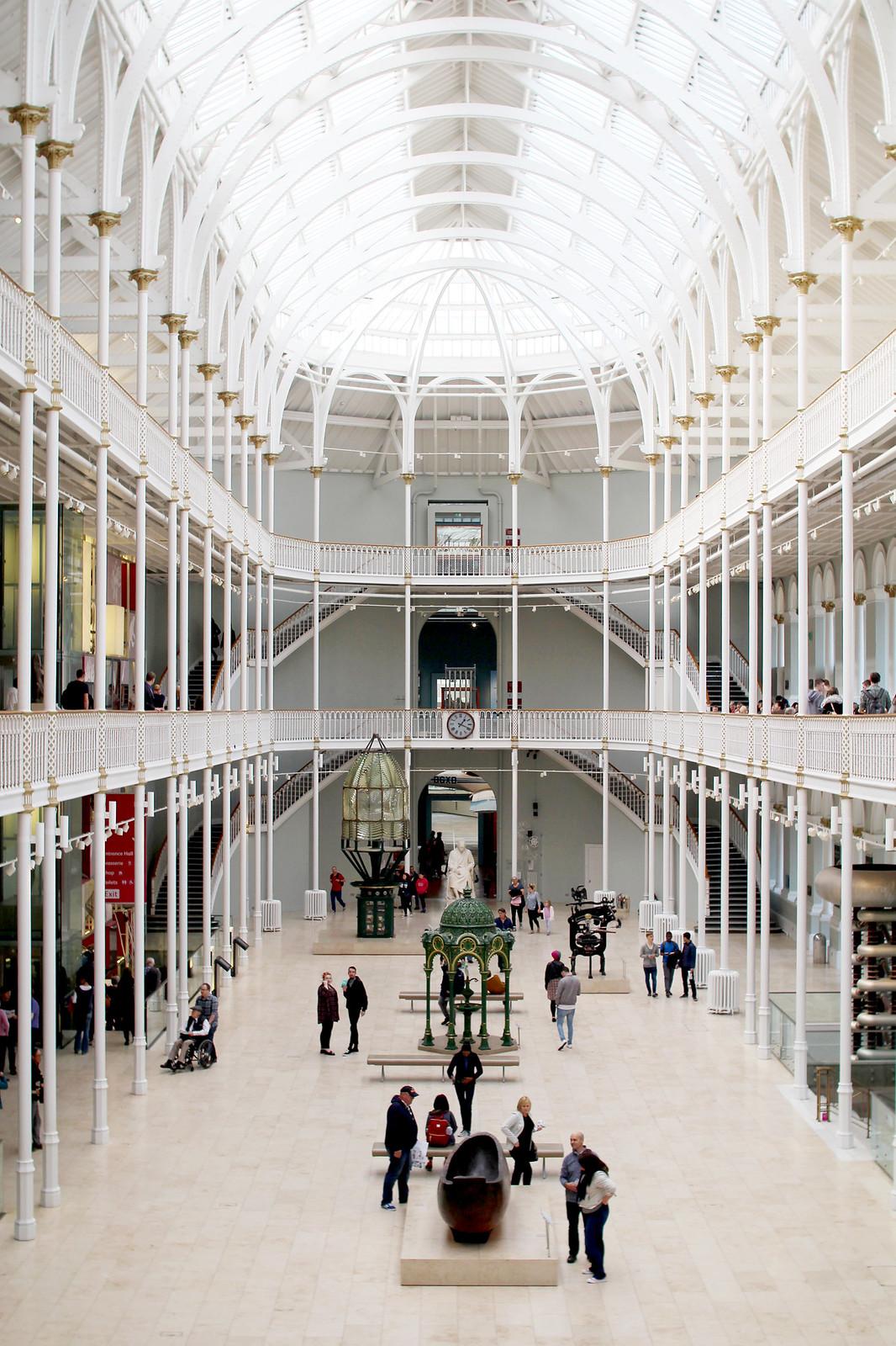 The National Museum of Scotland, Edinburgh UK