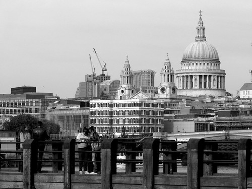 City of London Skyline (Black and White) | by 8DCPhotography (www.8dcphotography.co.uk)