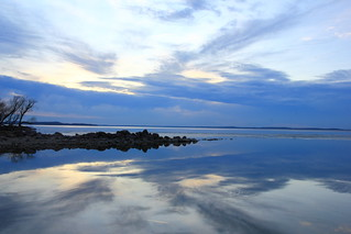 SKY REFLECTED OFF MENDOTA | by sandemadison