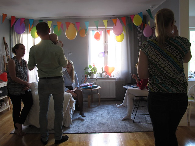 thereses baby shower, friday, helsingborg