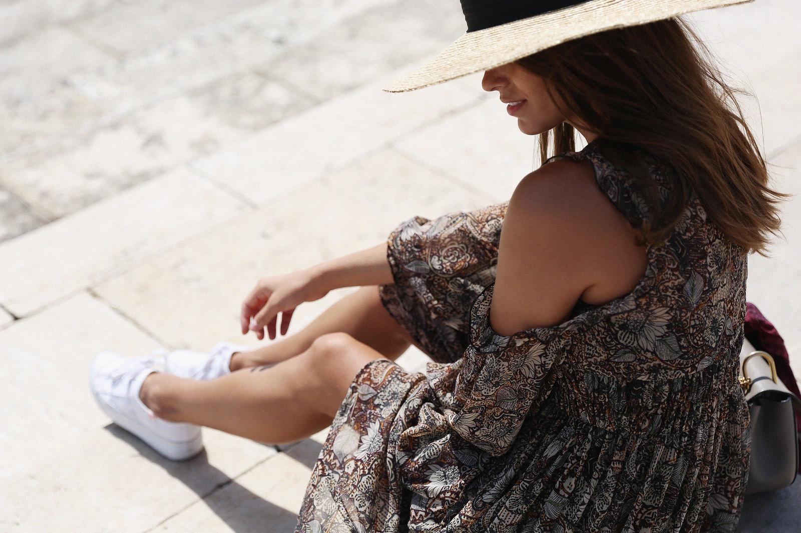 Jessie Chanes Seams for a desire Lisboa Parfois Boho folk Floral Midi Vest-7