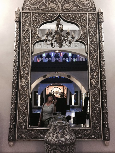 iphone photo 842: Moroccan dream - a mirror portrait. Marrakech (Morocco), 10 Aug 2016