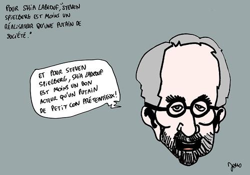 08_Shia Labeouf contre Spielberg