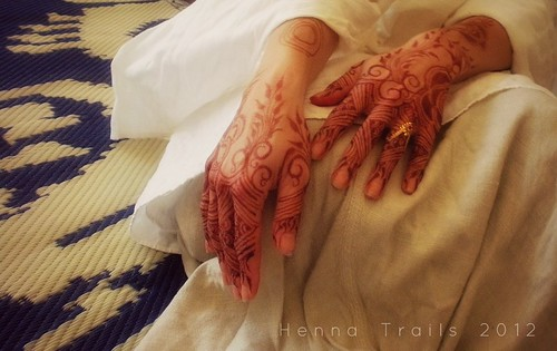 Natural wedding henna | by Henna Trails