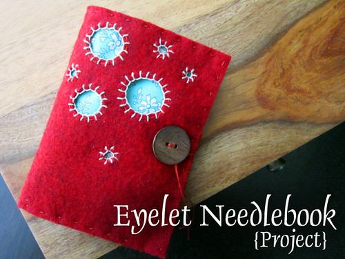 Eyelet Needlebook project | by StitchedInColor