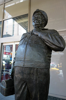 Ralph Kramden Statue at Port Authority | by Scott Beale