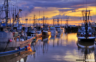 Steveston Harbour Sunset | by Clayton Perry Photoworks