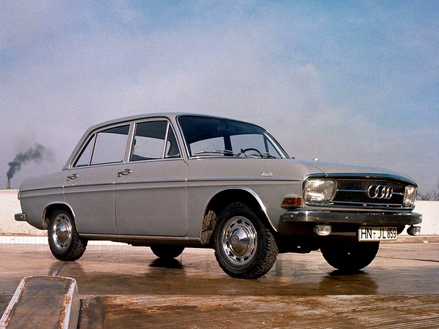 Седан Audi Super 90. 1966 – 1971 годы производства