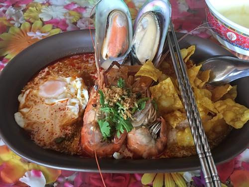 Tomyam Seafood noodle