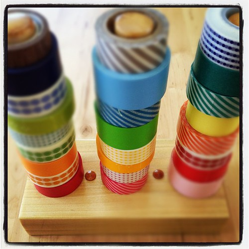 2 pm - organizing some washi tape. #10on10 | by Erin - TwoMoreSeconds