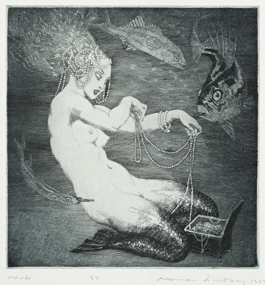 Norman Lindsay - Treasure, 1925