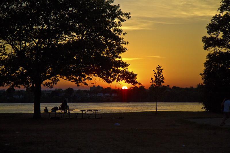 sunset on Little Lake6