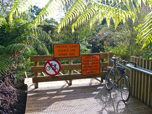 Please Dismount - Unsworth Reserve Boardwalk | by ibikenz
