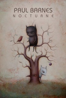 Paul Barnes 'Nocturne' postcard (front) | by thinkspace_gallery